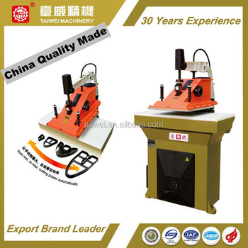 Hydraulic Swing Arm Die Cutting Machine for Shoesmaking