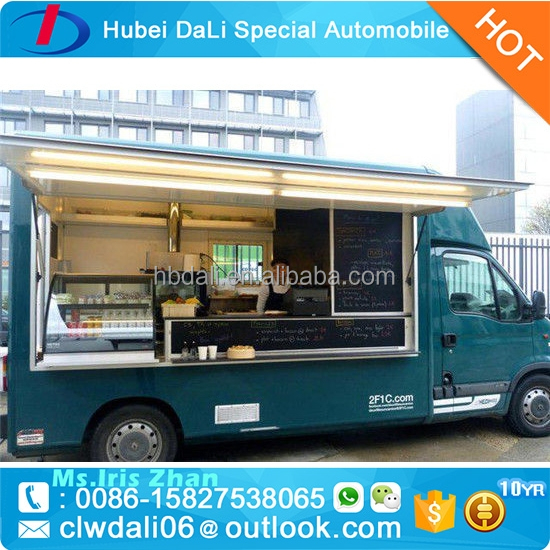 Popular Multi-function Mini Food Truck / Fast Food Cart / street food Vending truck for sale