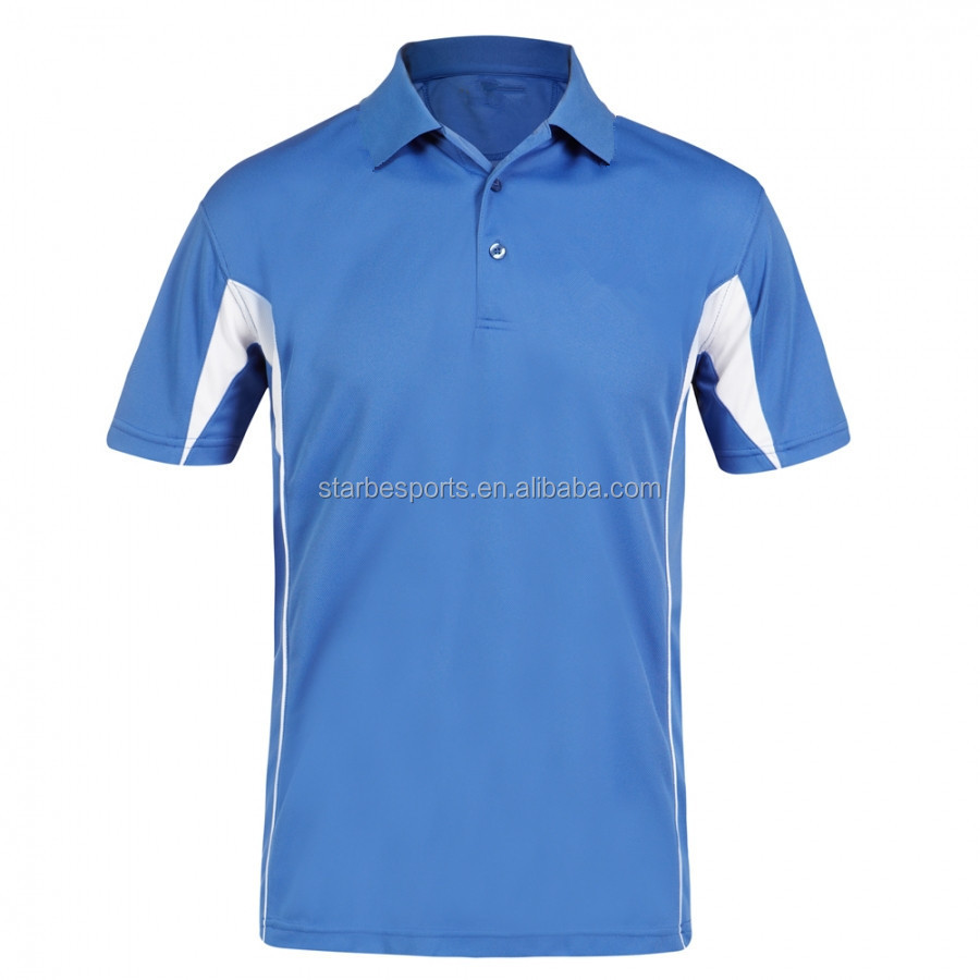 2015 new style high quality breathable dry fit polo shirts
