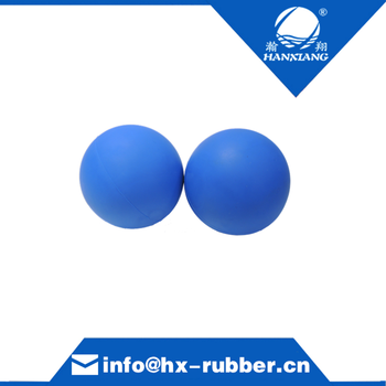 2018High Density Different Kinds and sizes of Rubber Balls