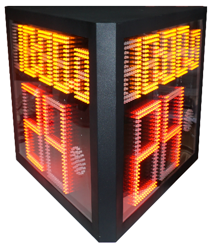 1/2/3/4 sides 24 seconds shot game scoring and scoreboard for basketball and badminton games with software