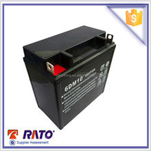 6DM10 12V 10Ah free maintance sealed lead acid battery for sale