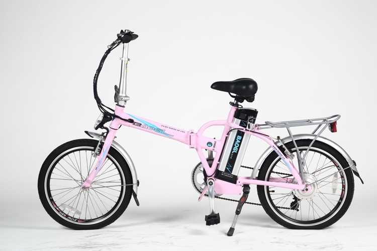 "26"" mini electric folding bike aluminum frame recumbent trike"