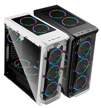 powercase wholesale pc case for gaming computer metal atx pc case sale quality aluminum micro atx case