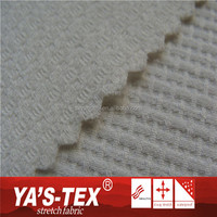 Wholesale Quick Dry Fit Woven Stretch Polyester Jacquard Weave Fabric For Dress