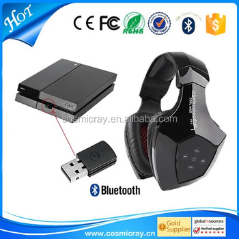 new product to sell wireless bluetooth compatible headset for ps4 buy compa. Black Bedroom Furniture Sets. Home Design Ideas