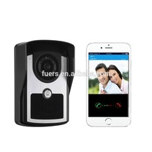 New preferential WIFI video recording smart doorbell with night vision support APP control and 100W high definition image camera