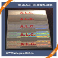 anti fake hologram roll sticker design for motorcycle with best price made in china