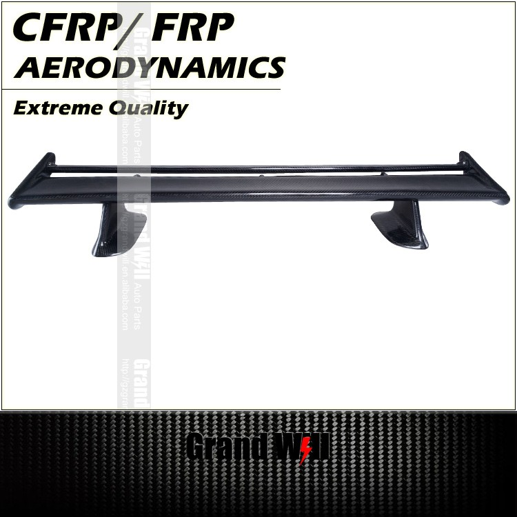 Twin Deck Vacuum Infusion CFRP/ FRP Rear Trunk Spoiler for R32 R33 R34/ AERO-CFW-NSR323334-TD