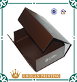 Foldable cardboard high quality custom high heel shoe box