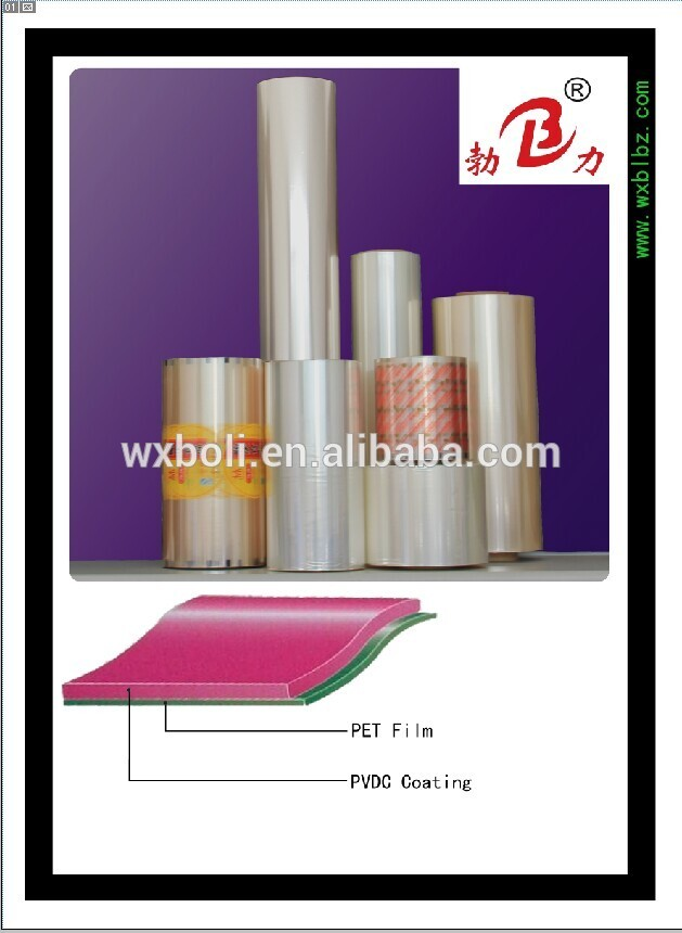 Factory supply metallized plastic pet films of ISO9001 Standard