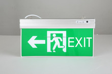 Rechargeable Emergency Exit Lights LED fire safety exit signs