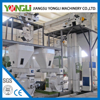 China manufacturer pellet production line wood pellet plant for sale