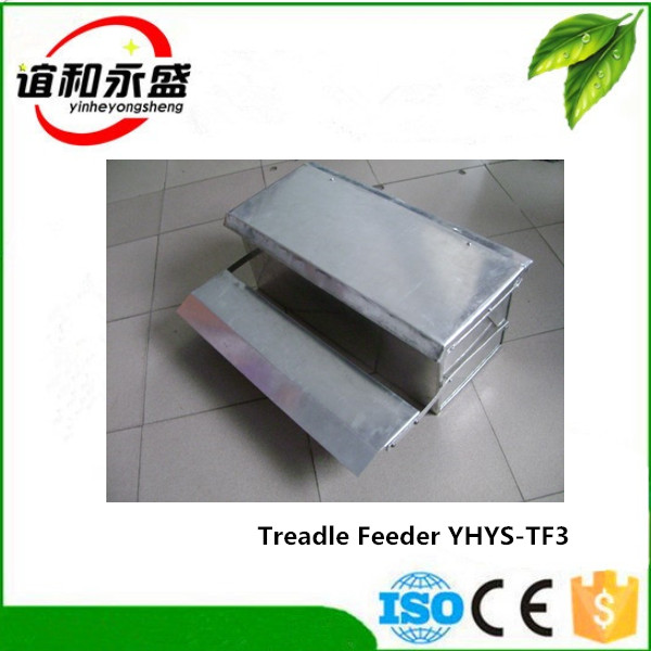 large capacity metal poultry feeding trough