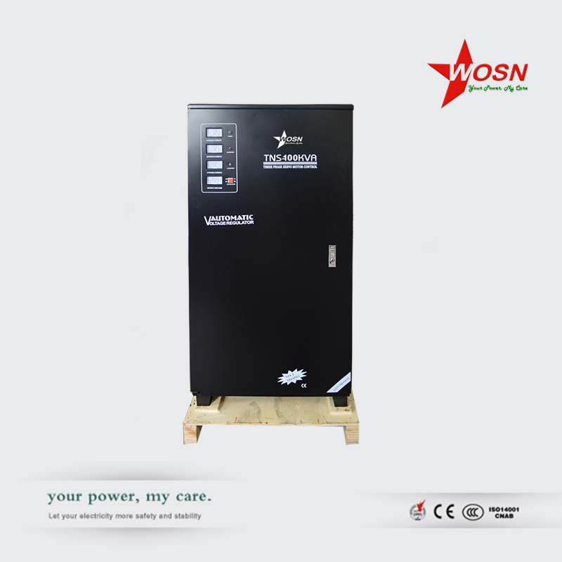 SVC(TNS)-100KVA 3 phase servo motor automatic voltage stabilizer