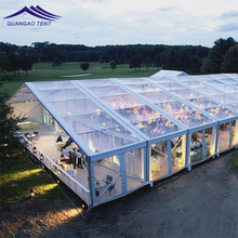 Factory Supply romantic transparent pvc special structure marquee weding party tent for sale