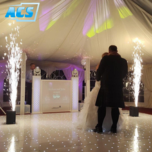 New products DMX cold spark machine indoor wedding sparkler used with led dance floor