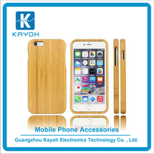 [kayoh] Custom Design Wholesale Bamboo Cell Phone Case For Iphone 6 Wood Case