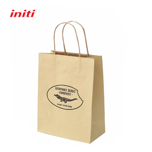recyclable High quality brown kraft paper bags