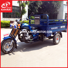 New design Chinese high quality vehicles petrol tekerlekli 3 wheel motor tricycle for sale Africa