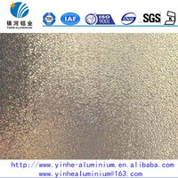 8011 O anodized embossed stucco aluminum plate for heat insulation materials