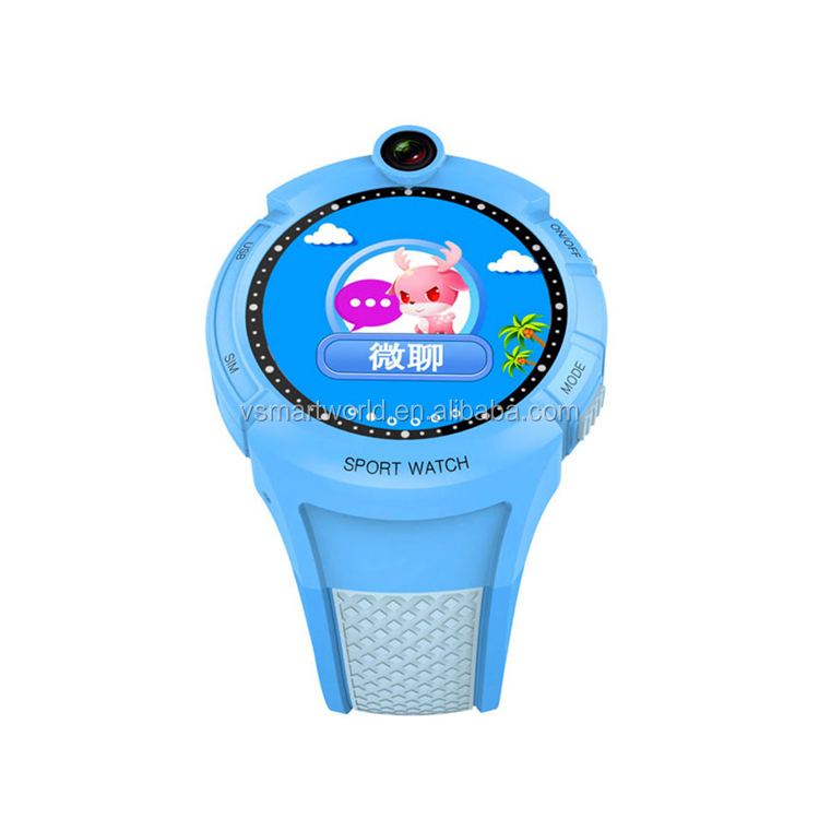 Latest product Support Micro SIM Card kids smart watch for children learning GPS smart watch