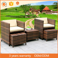 Best Selling Wicker Rattan Patio Garden Modular Furniture Outdoor Sofa Set