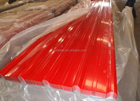 pre-painted galvanized corrugated steel sheet from chinese factory used in industry and construction