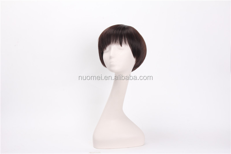 AC1347 korean fake hair wigs,synthetic wigs,old lady wigs