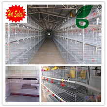 Folding chicken cage / chicken farm / chicken coop (A-432), A type, 4 tiers each side, 128 chickens, 5.5-8kgs