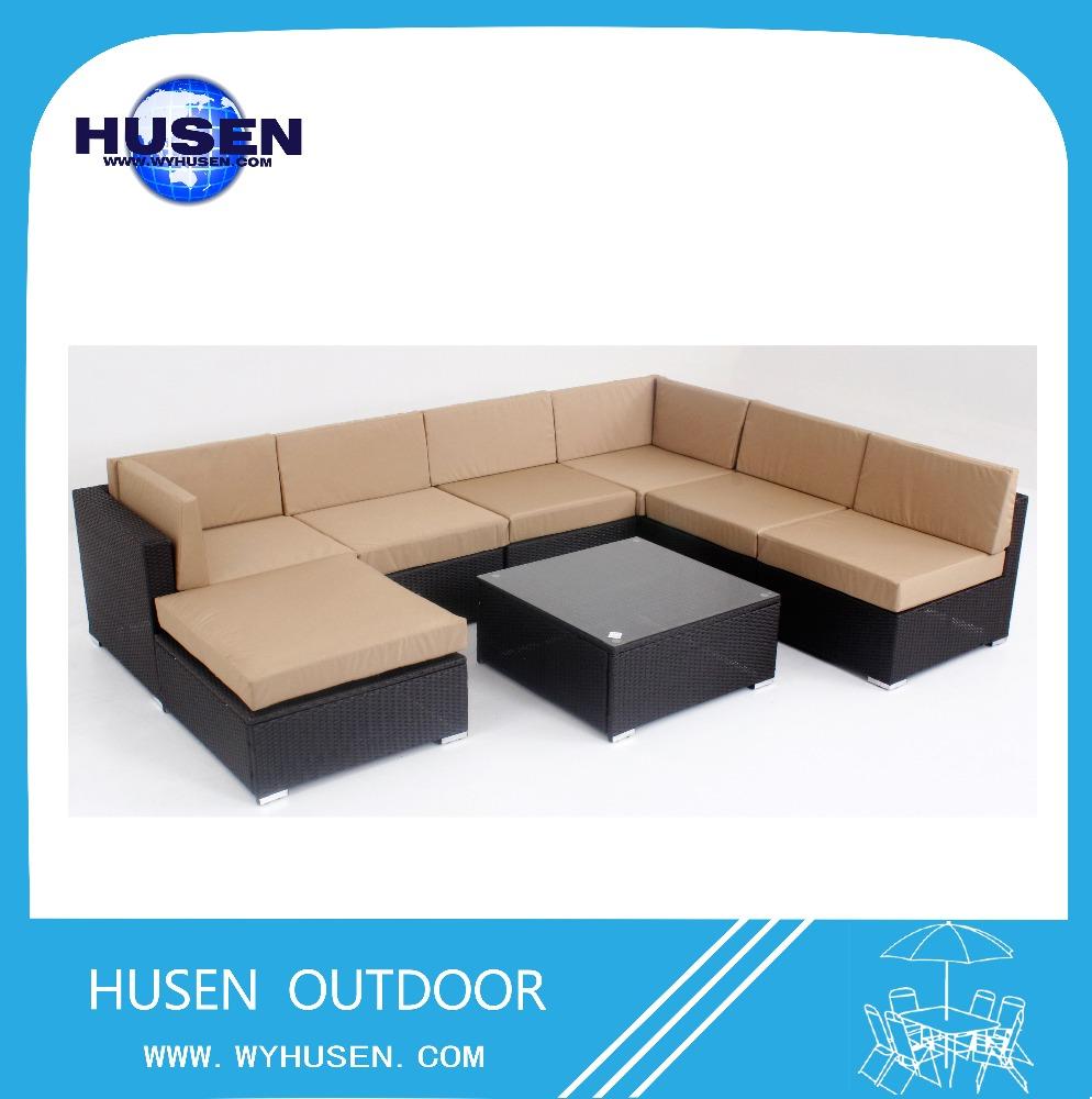 Modern pe rattan sofa sala set classic sofa buy modern for Modern rattan sofa