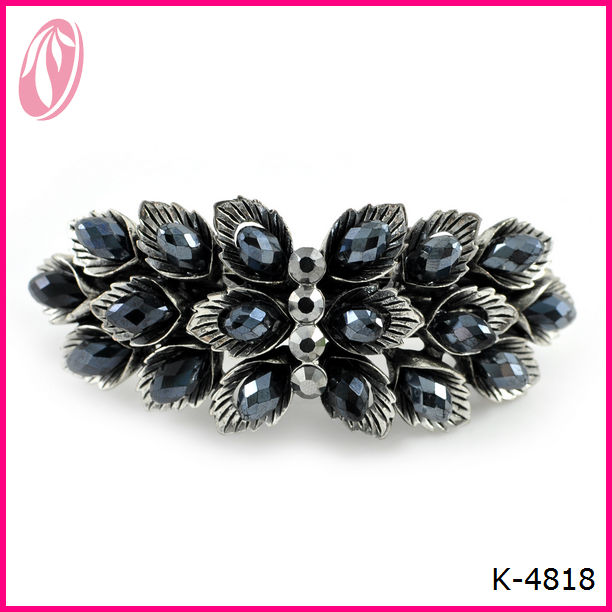 Wholesale vintage Diamond hair spin pins crystal hair clips