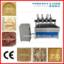 China Syntec Control 1325 3 Axis 3D Woodworking CNC Router Machine by Linear