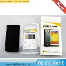 Top quality 4200mAH external battery charger for samsung note 3 replacement backup power case