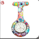 Clip-on Fob Brooch Hanging Nurse Quartz Watch Fashion & Casual Men Women Unisex Rubber Silicone Pocket Watch relogio Hour Clock