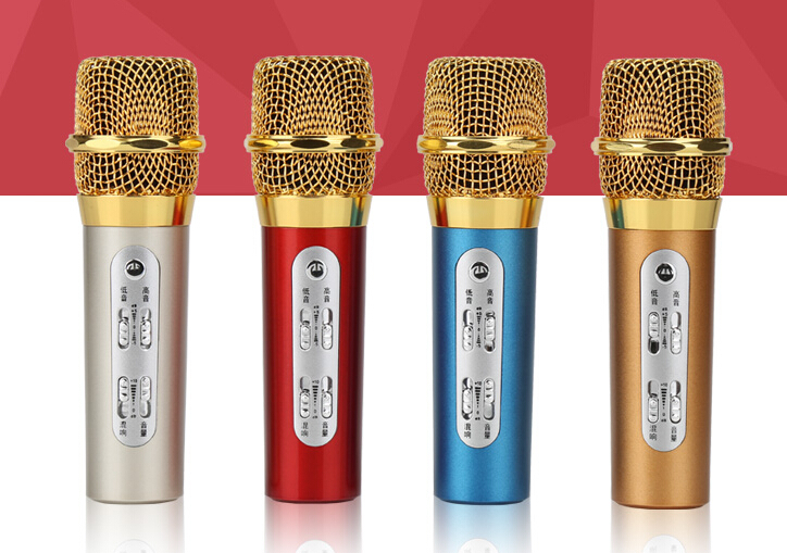 Newest Promotion MC-088 Mobile Phone Condenser Karaoke Microphone