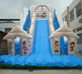 HOLA water slide for water park/inflatable slide for sale