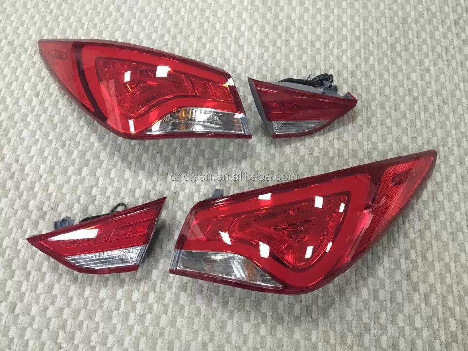For Hyundai Sonata 2011 LED tail light modified/tuning/refit(Fit for:Sonata 2011/2012/2013)