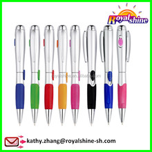 Premium roller pen multi function laser pointer led light ball pen