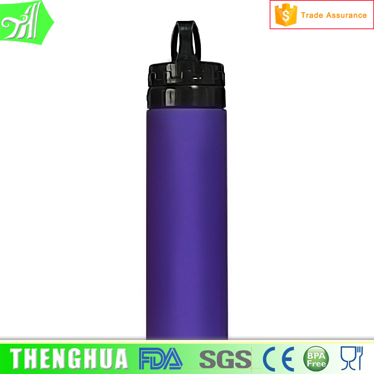 Eco-friendly Sports Silicone Collapsible Water Bottle