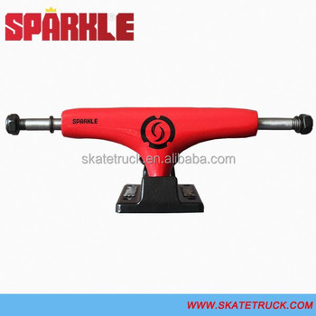 "Sparkle MID Longboard Trucks Classic Series Red Color (4.75"" 5.0"" 5.25"" 6.0"")"