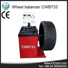 Magnetic levitation with visual laser wheel balancers display CWB733
