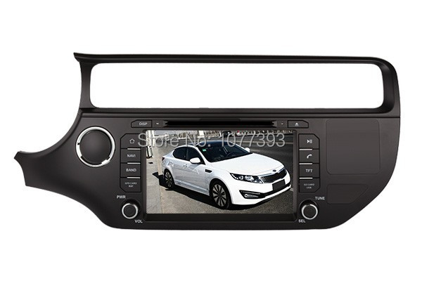 2015 Top DHL Free Shipping Professional Wince Car DVD Player For KIA Rio 2015 2916 With GPS Navigation BT Free Map