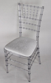 wedding crystal resin chiavari chair