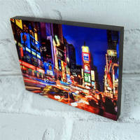 Low price antique sublimation mdf small photo panel