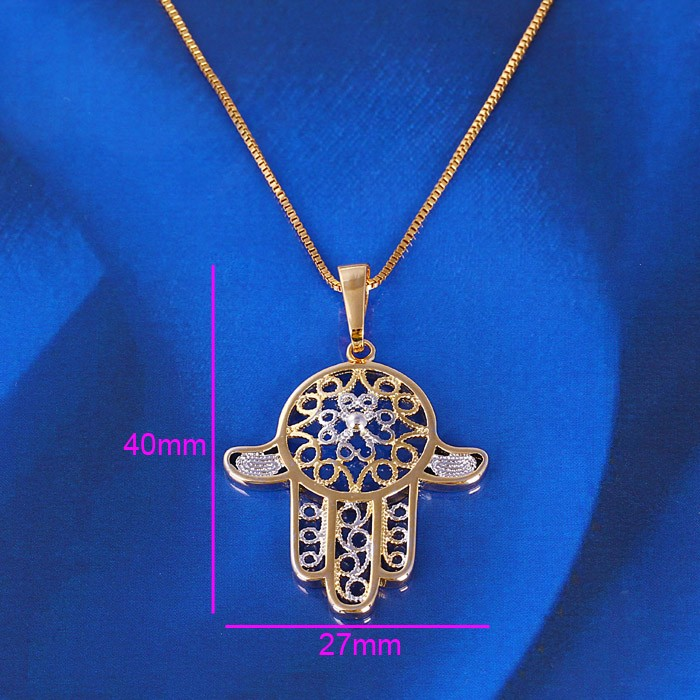 Manufacture high quality best price muslim gold plated allah pendants