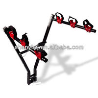 New 3 Bicycle Bike Rack Hitch Mount Ball Carrier Car Truck Suv Swing 2""