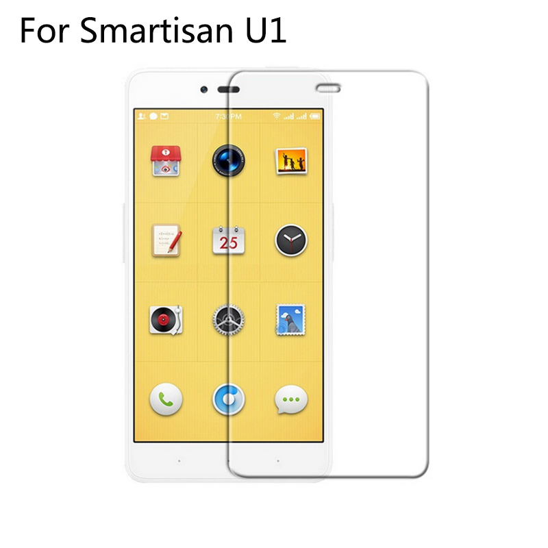 9H 2.5D Tempered Glass Screen Protector For Smartisan <strong>U1</strong>