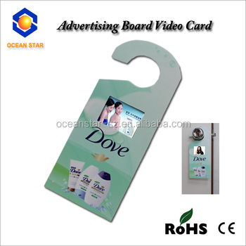 Folded Paper Product Type and Folk Art Style invitation lcd video greeting card