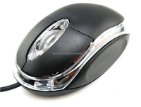 Factory directly selling Small Wired USB Optical MOuse FOR PC LAPTOP COMPUTER SCROLL WHEEL,Cheapest Small Mouse